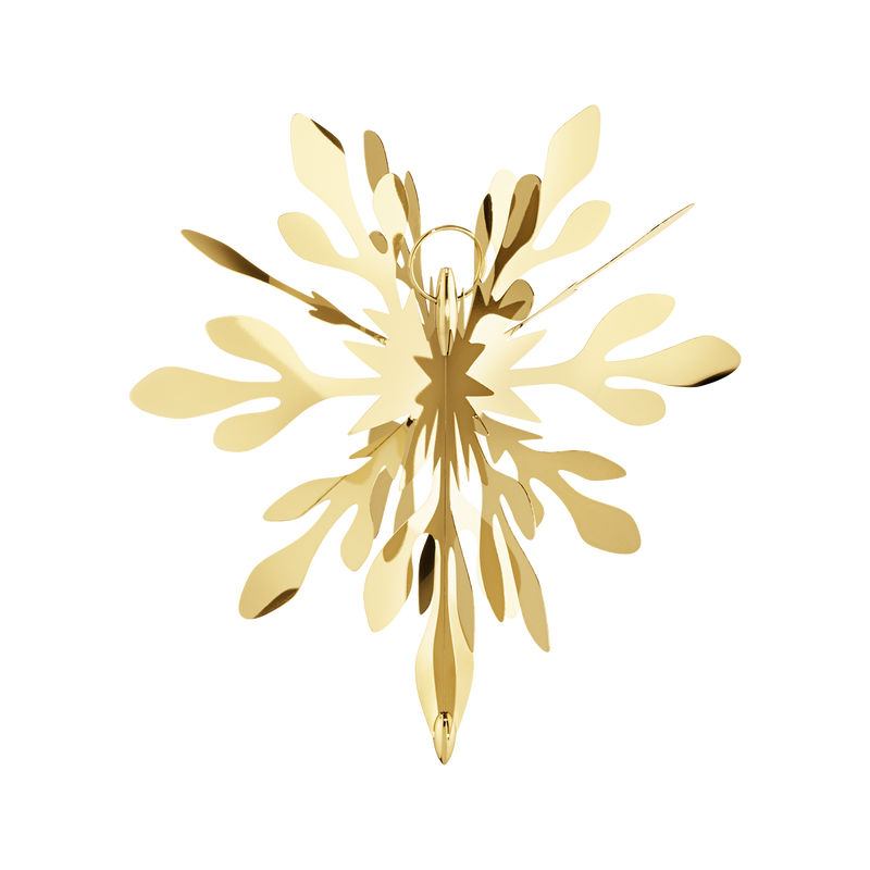 PETAL topper - large, gold plated