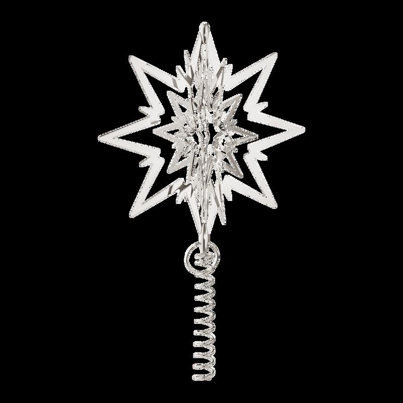 Lige ud Topstjerne til juletræ - Køb stor, palladiumbelagt juletræsstjerne WW84