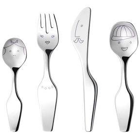 ALFREDO The Twist Family, 4 pcs. cutlery set