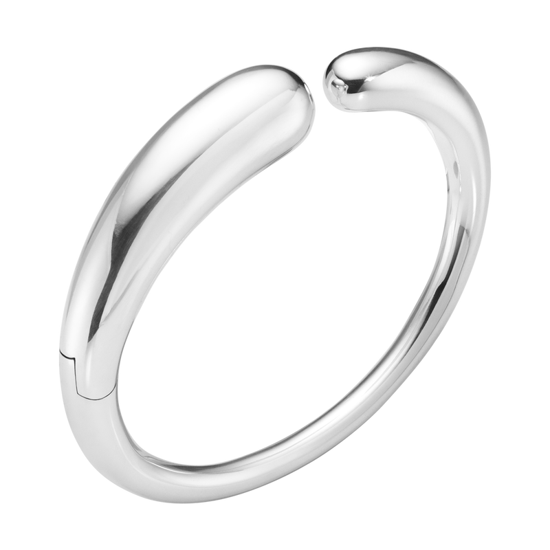 MERCY, hinged bangle sterling silver