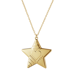 2019 Christmas ornament, Star - Gold plated| Georg Jensen