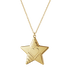 2019 Christmas ornament, Star - Gold plated