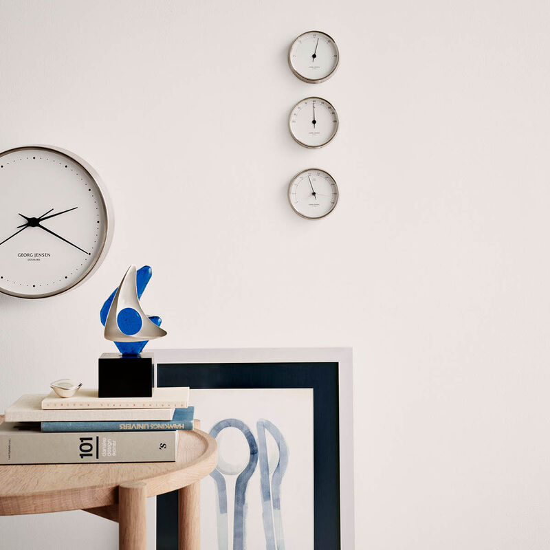 KOPPEL 22 cm wall clock with white dial