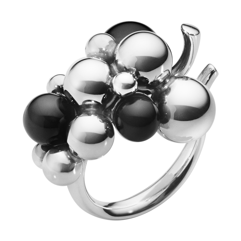 MOONLIGHT GRAPES ring, medium