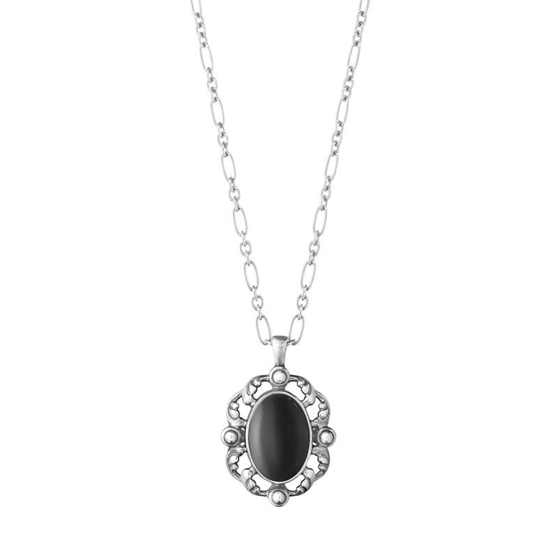 2018 HERITAGE pendant - sterling silver with black onyx