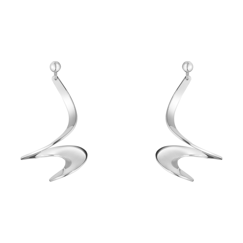 MÖBIUS earrings - sterling silver