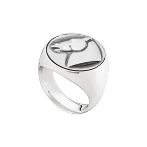 EQUESTRIAN ring - sterling silver