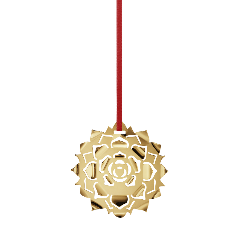 2020 Holiday Ornament, Ice Rosette