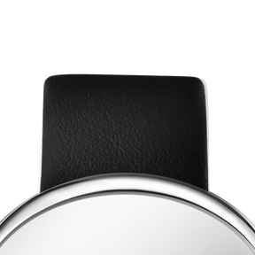 VIVIANNA OVAL Strap - 20mm / 0.79in, Black Calfskin