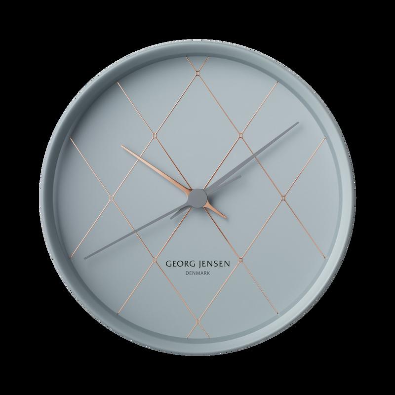 8754243d3 KOPPEL 22 cm wall clock, harlequin I Georg Jensen