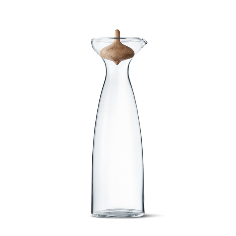 ALFREDO carafe 1L, glass