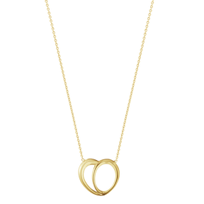 OFFSPRING heart pendant18 karat yellow gold