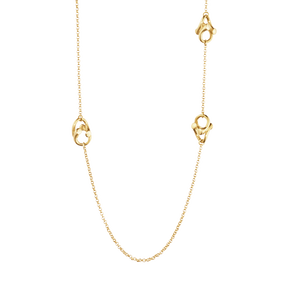 MAGIC Halskette - 18 kt Gelbgold mit Diamanten in Brillantschliff