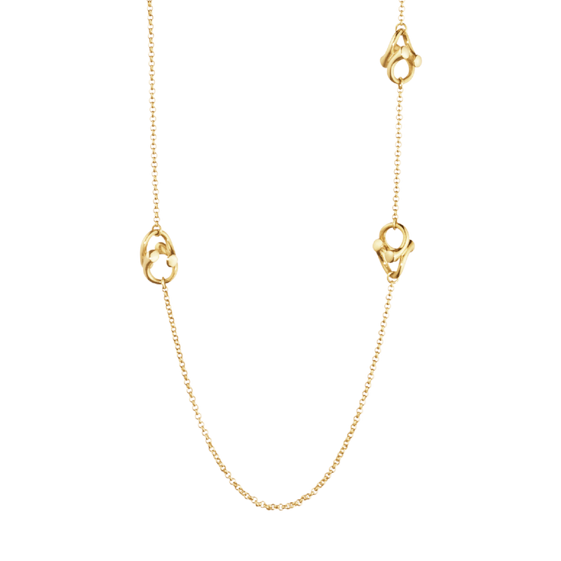 MAGIC necklace - 18 kt. yellow gold with brilliant cut diamonds