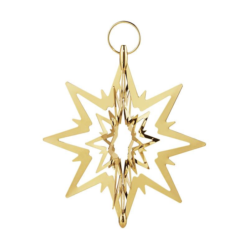 TOP STAR, gold plated, small