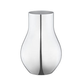 CAFU vase, small, stainless steel