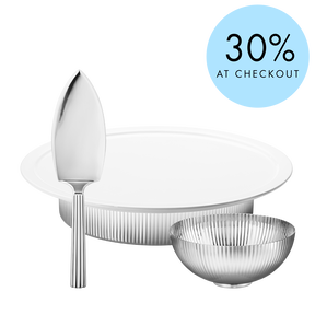 BERNADOTTE serving set - Save 30% (Serving plate, bowl and cake spade)