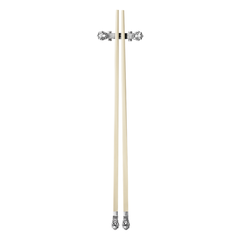 ACORN chopsticks with rest, mammoth tusk