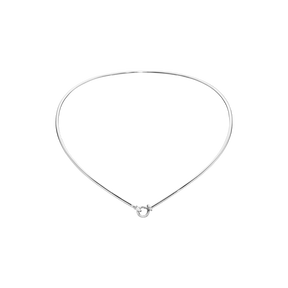 DEW DROP halsring - sterlingsilver