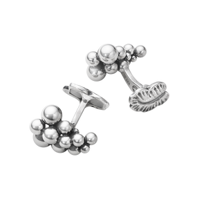MOONLIGHT GRAPES cufflink – sterling silver
