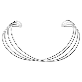 ALLIANCE neck ring - sterling silver