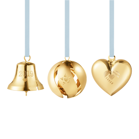 2019 Christmas Collectibles Gift Set - Gold plated| Georg Jensen