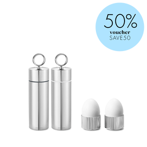 BERNADOTTE salt and pepper grinder and egg cups - Save 50%