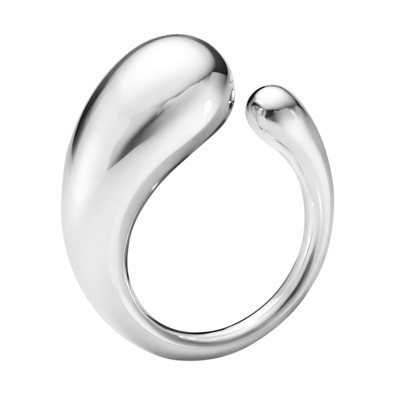 MERCY, ring sterling silver, large