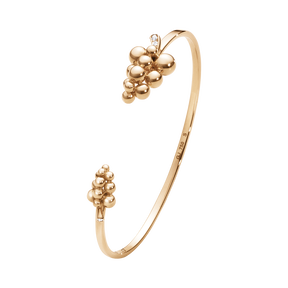 MOONLIGHT GRAPES armring - 18 kt. rosa guld med brillantslebne diamanter