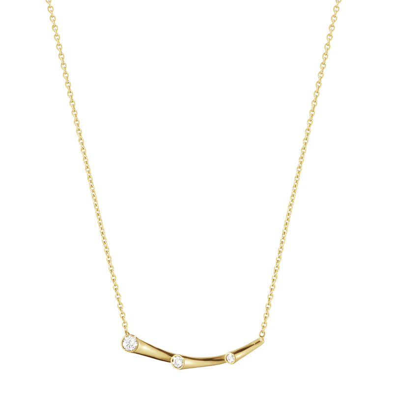MAGIC pendant - 18 kt. yellow gold with brilliant cut diamonds
