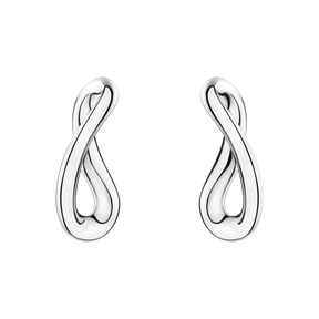 Infinity Earrings Sterling Silver