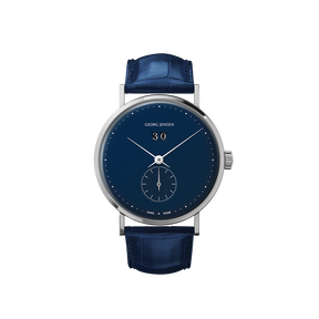 KOPPEL GRANDE DATE - 41 mm, Small seconds Automatic, blue dial