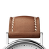 KOPPEL strap -  32 mm, brown leather XS