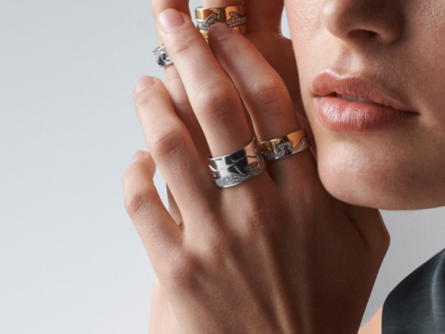 Diamond Silver And Gold Rings For Women And Men Georg Jensen