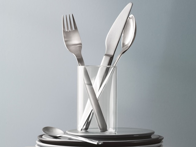 New York cutlery in stainless steel