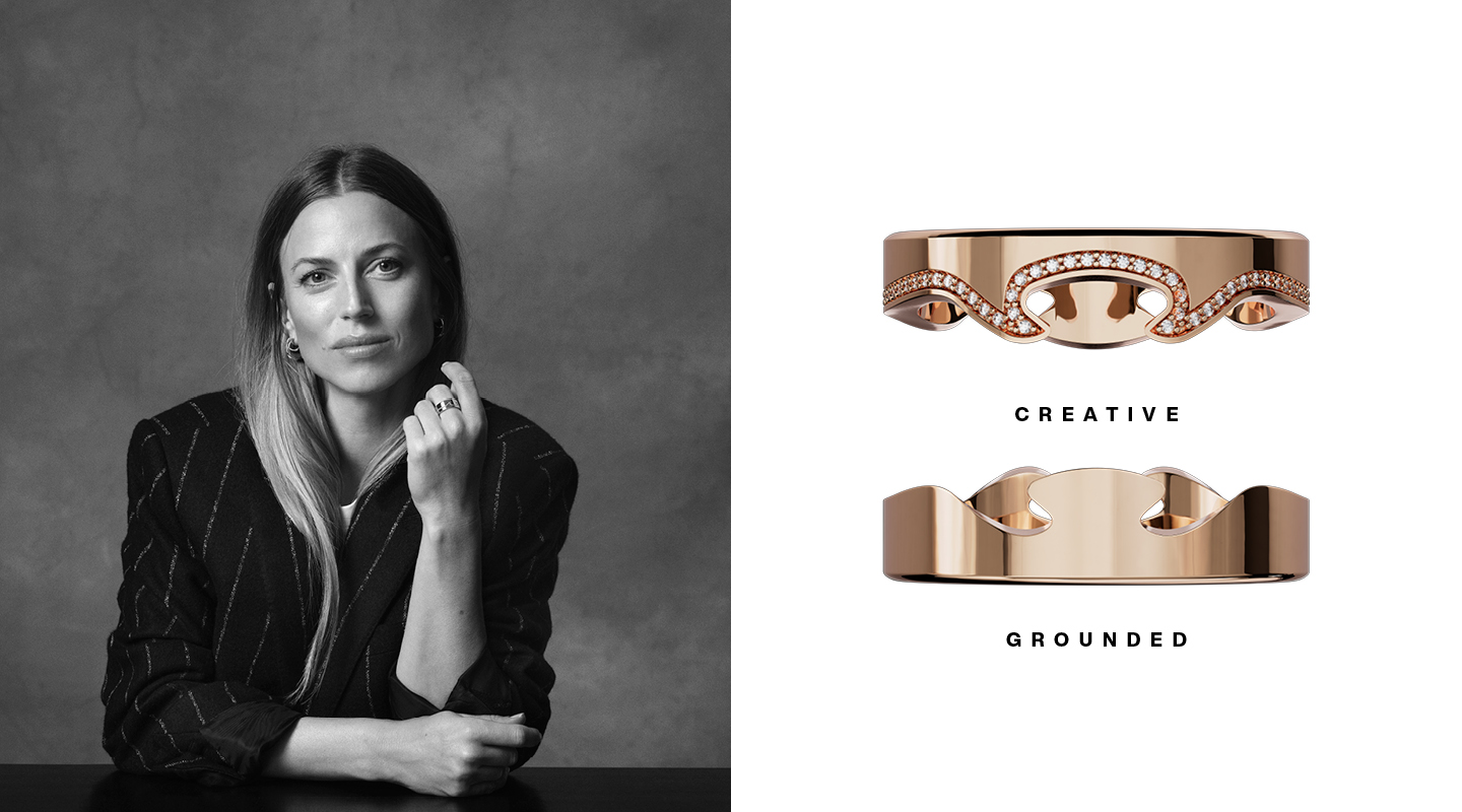 Georg Jensen Fusion the Edges That Shape You with Barbara