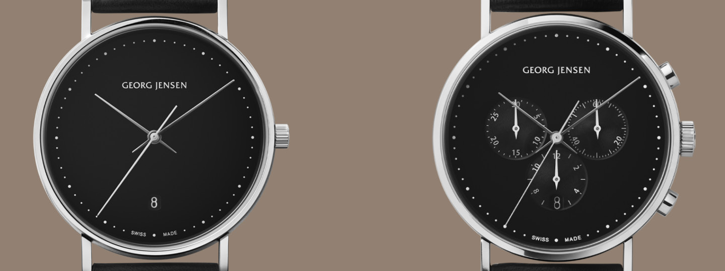 Henning Koppel watches as a Christmas gift idea for men from Georg Jensen