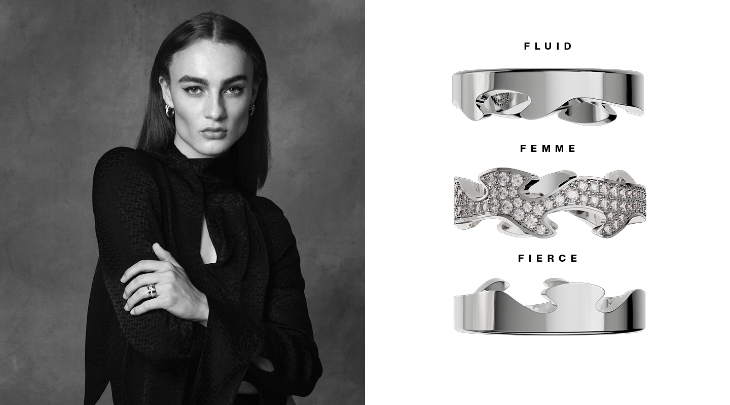 Georg Jensen Fusion the Edges That Shape You with Vincent