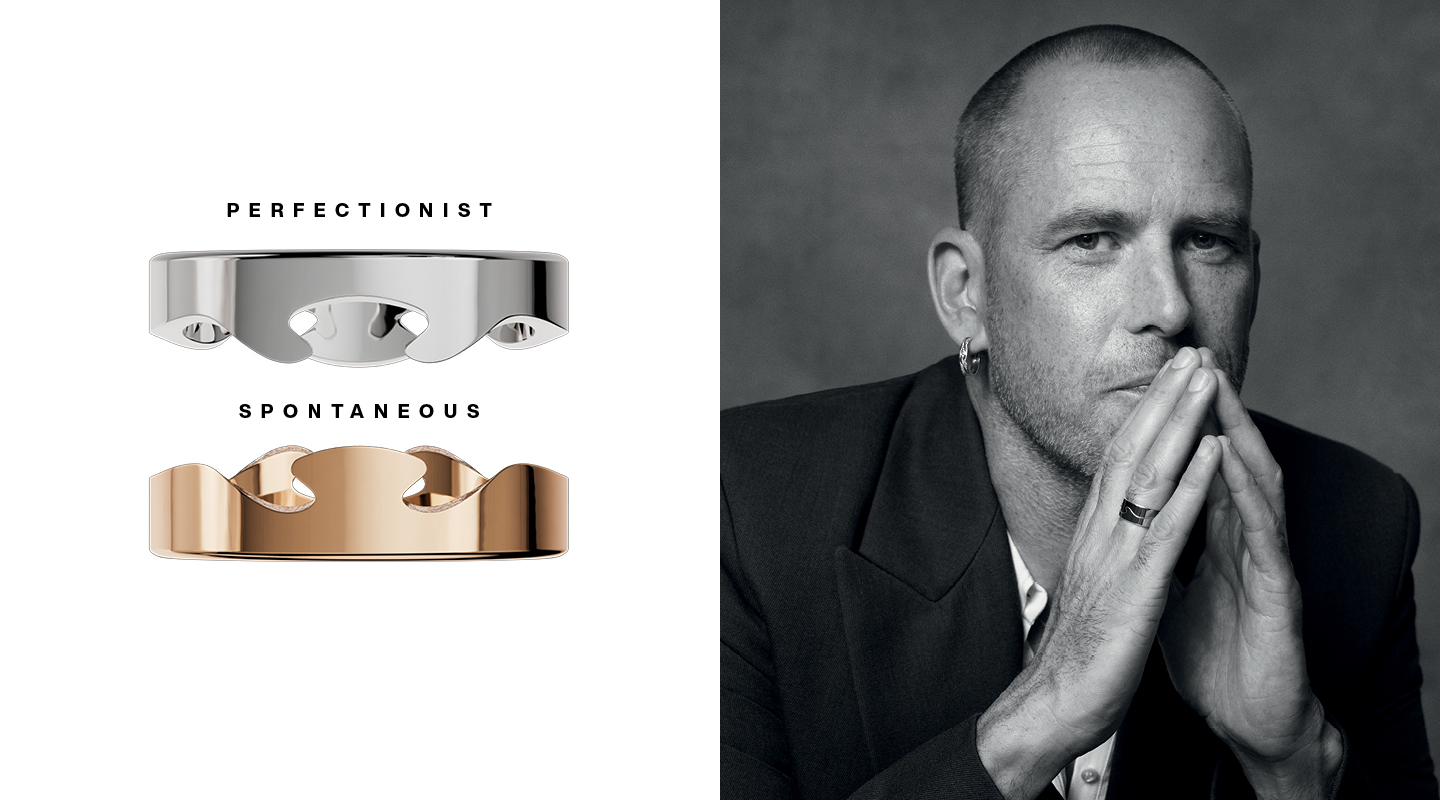 Georg Jensen Fusion the Edges That Shape You with Frederik
