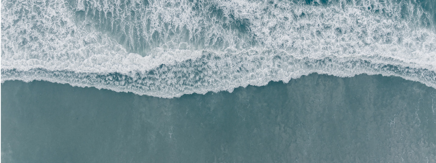 A photo of sea water