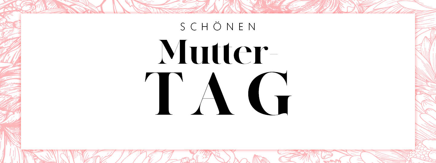 Mother's Day 2021 campaign banner for Germany
