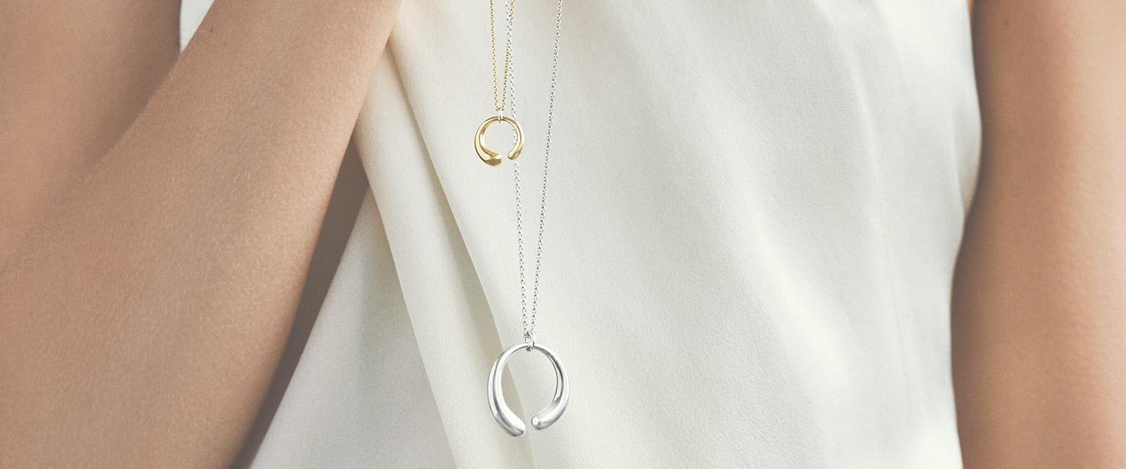 Anhänger, Goldketten und Halsketten für Damen   Georg Jensen
