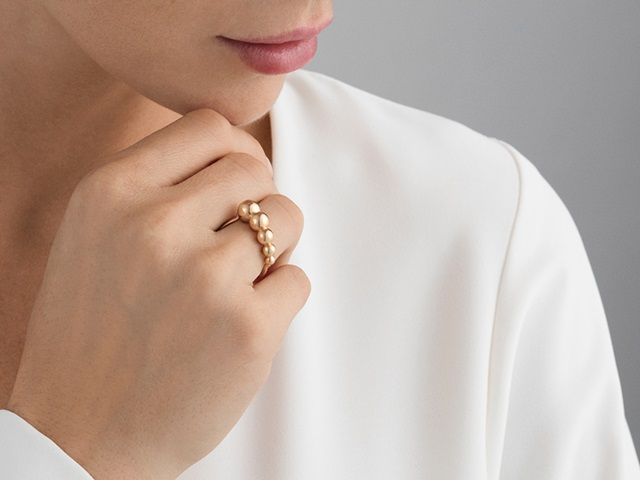 moonlight grapes ring rose gold