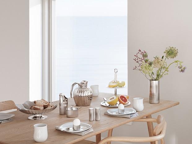 bernadotte tableware in stainless steel