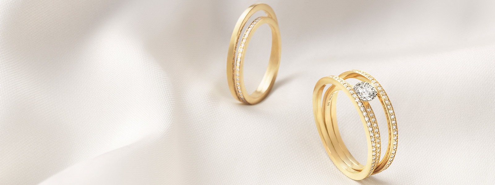 Engagement Rings And Wedding Bands Shop At Georg Jensen