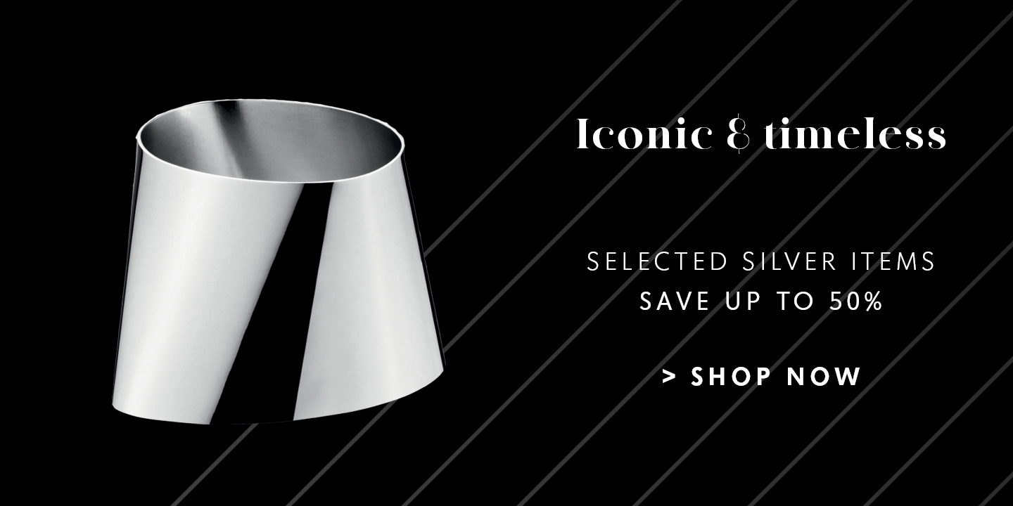 Explore more great Back Friday offers and deals on silverware designed by Georg Jensen
