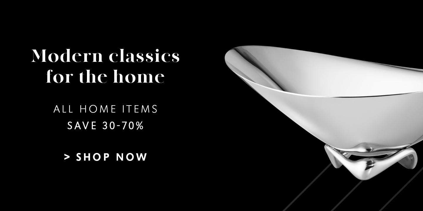 Explore more great Back Friday offers and deals on Home items designed by Georg Jensen