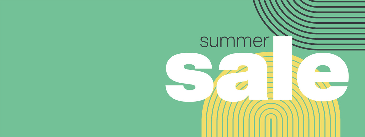 Summer Sale 2021 green, yellow and black theme