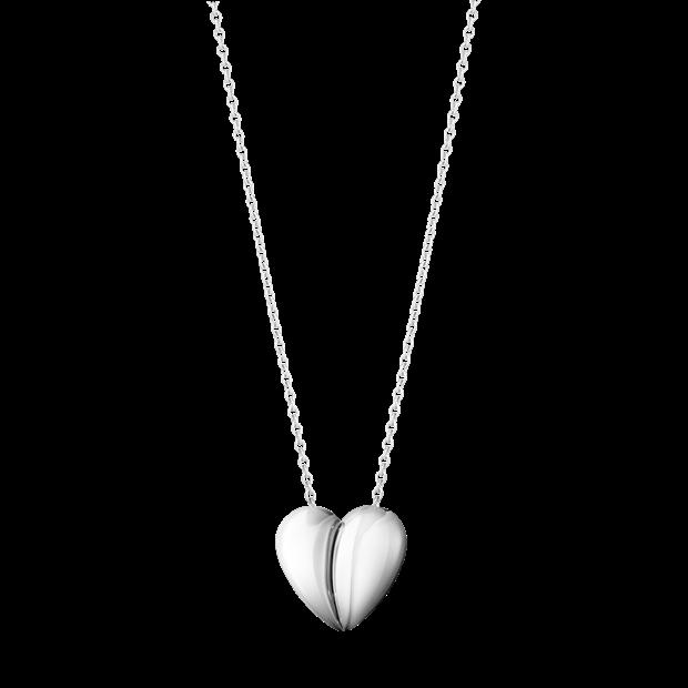 Hearts of Georg Jensen steling silver pendant