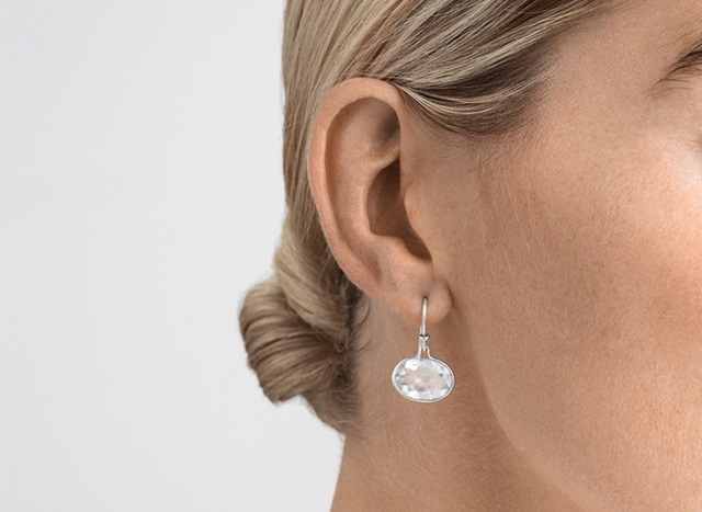 savannah earring rock crystal